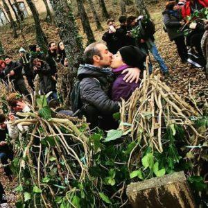 Il bacio a Carnevale di Satriano