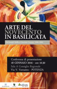 Arte del novecento in Basilicata