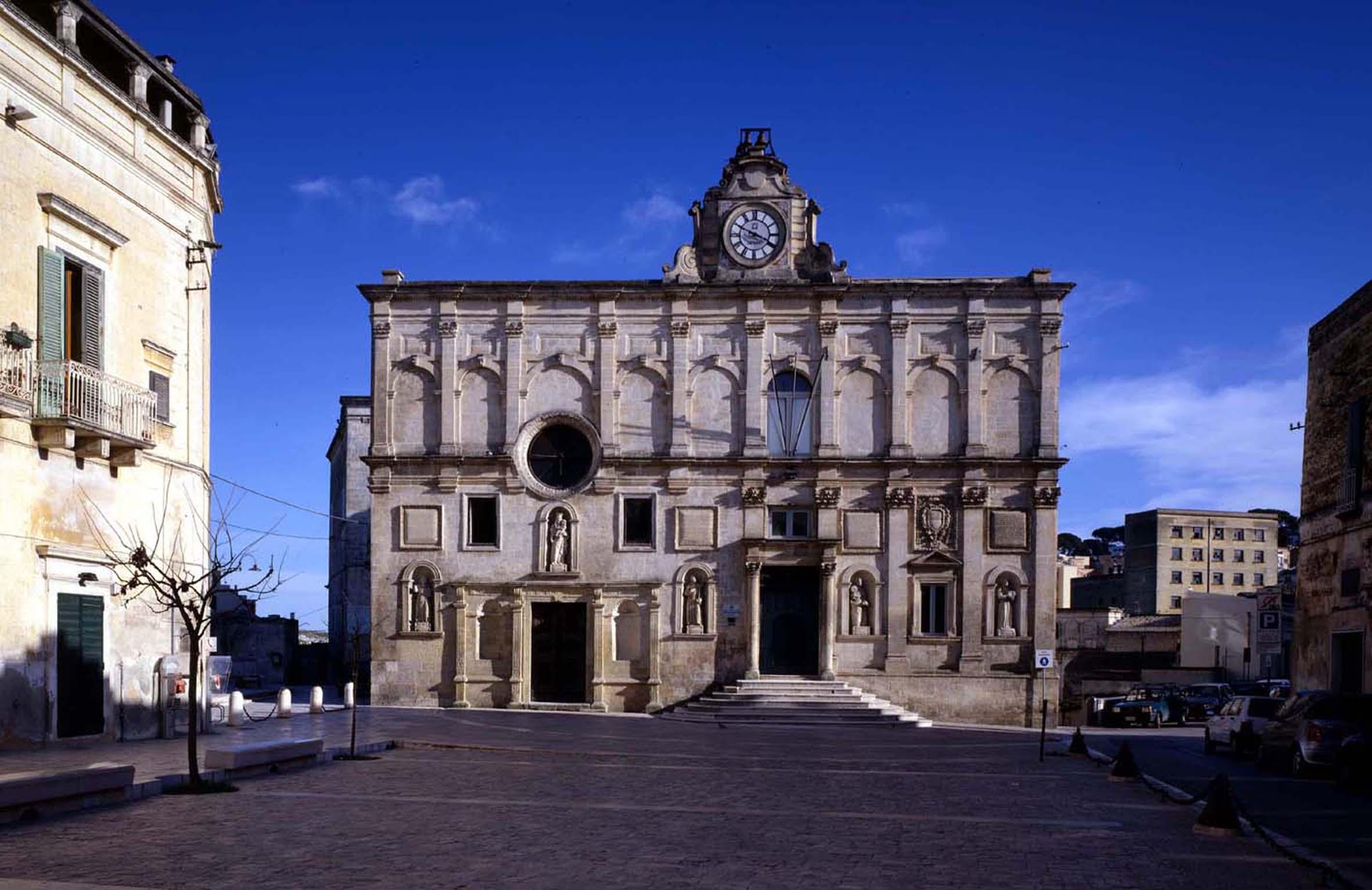 Palazzo Lanfranchi museo Matera