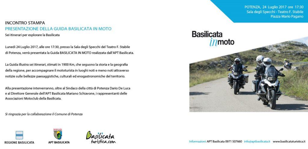 invito Basilicata in moto