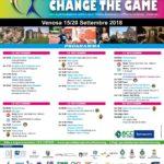 Programma change the game - Venosa