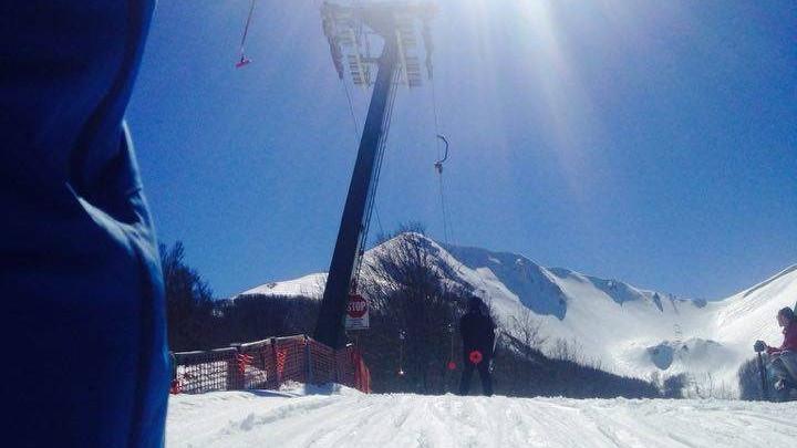 Monte Sirino Neve