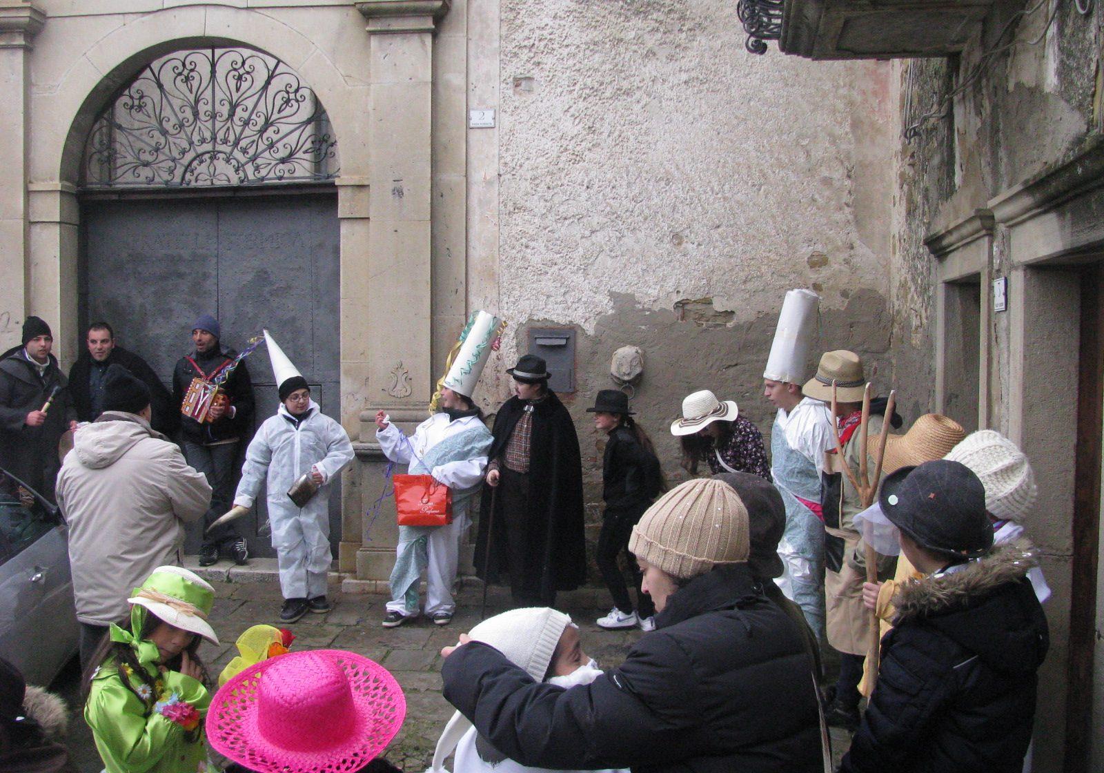 Ancora una scena del Carnevale di Cirigliano
