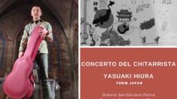 Calvello: il 5 Dicembre concerto del chitarrista giapponese Yasuaki Hiura