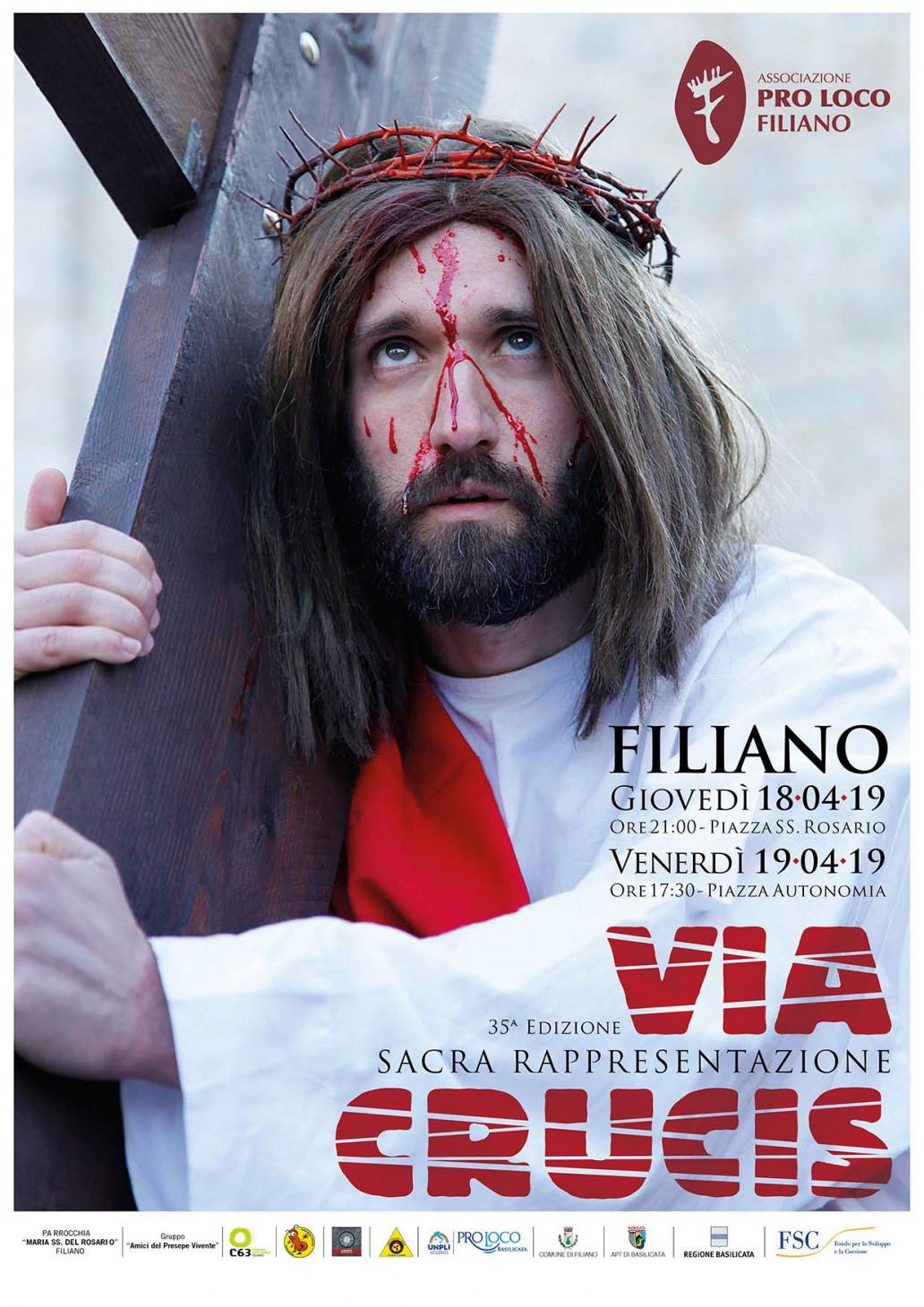 601f9abbc235 Sacra rappresentazione della VIA CRUCIS di Filiano