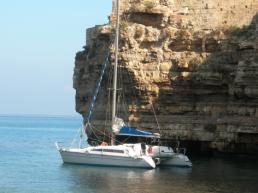 Veleggiando in catamarano da Policoro a Santa Maria di Leuca passando per Taranto (Marina di Policoro e/o Pisticci)