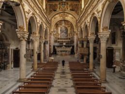 Cattedrale Matera - navata