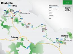 itinerario moto matera melfi