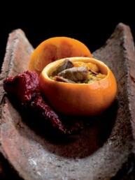 Arista di maiale con arance fritte di Tursi