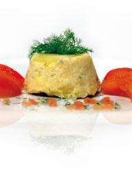 Sformatini di baccala e patate