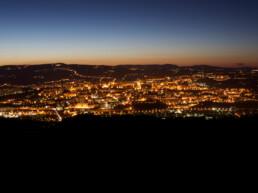 Potenza - panoramica notturna