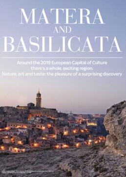 [:it]Matera and Basilicata illustrated map copertina[:en]Matera and Basilicata illustrated map cover[:]