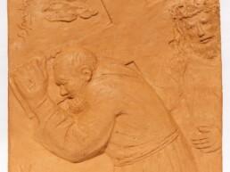 S. Spedicato- Gesu aiutato da Simone di Cirene