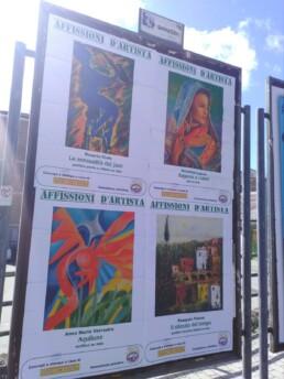 Affissioni d artista a PotenzaAffissioni d artista a Potenza