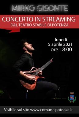 Mirko Gisonte Concerto Pasquetta 2021