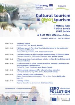 Agenda_Cultural tourism is green tourism_EN