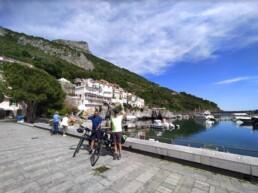 Porto di Maratea e bici