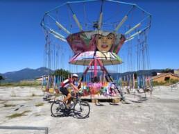 Giostra e bici