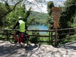 Laghi di Monticchio in bici