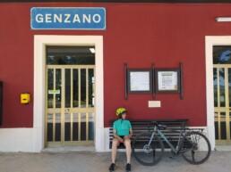 Genzano di Lucania in bici
