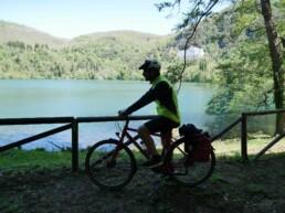laghi monticchio in bici